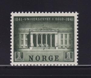 Norway Scott # 246 VF OG never hinged nice color cv $ 80 ! see pic !
