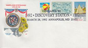 1992 Maryland America's Discovery Annapolis Farnam