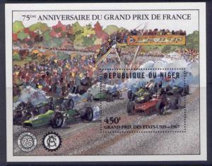 Niger 568 MNH Grand Prix Motor Racing