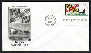 4296 Flags of Our Nation: Maryland Unaddressed PCS FDC