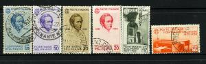 Italy Stamps # 349-54 SUPERB USED Scott Value $705.00