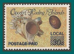 Cocos 1991 Surcharge 1c, MNH 225,SG236