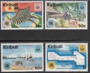 Kiribati MNH 418-21 Commonwealth Day 1983