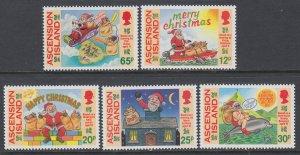Ascension 623-627 Christmas MNH VF