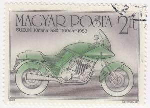 Hungary, Sc 2964, CTO-NH, 1985, Motorcycle