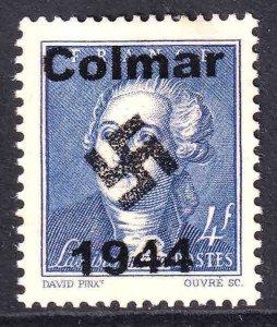 FRANCE 464 COLMAR OVERPRINT USED VF SOUND