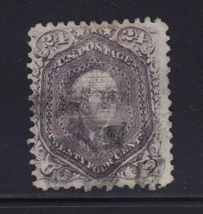 99 F-VF scarce used neat cancel with nice color cv $ 1600 ! see pic !