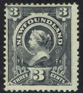 NEWFOUNDLAND 1890 QV 3C