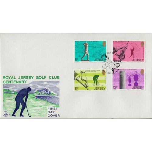 First Day Cover 28th February 1978 Royal Jersey Golf Club Centenary