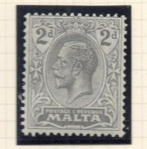 Malta 1921-22 Early Issue Fine Mint Hinged 2d. 321524