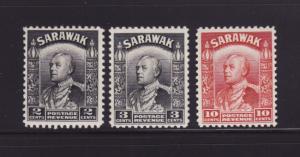 Sarawak 111-112, 120 MH Charles Vyner Brooke