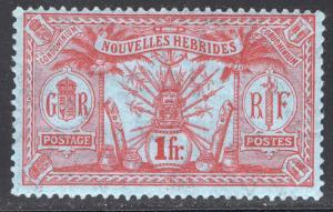 NEW HEBRIDES-FRENCH SCOTT 19