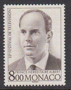 Monaco 1936 Prince Albert mnh