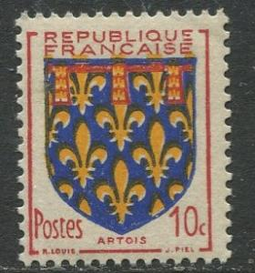 France - Scott 659 - General Definitive Issue -1951 - MNH -10c Stamp
