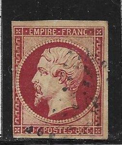 France 20 used 2018 SCV $42.50  -    13063