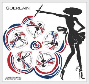 H01 France 2020 Guerlain Heart Miniature Sheet