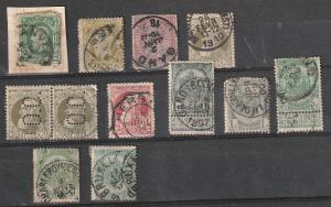 #32,37,52,82,84-6 Belgium Used