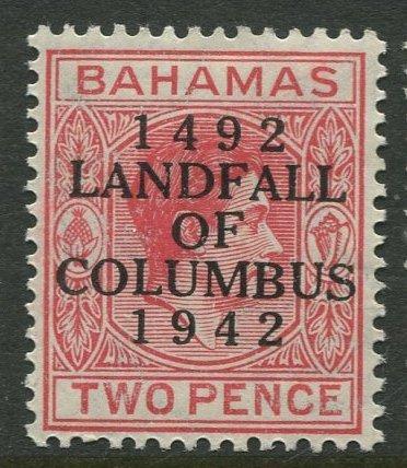STAMP STATION PERTH Bahamas #119 Landfall of Columbus Issue  MLH CV$0.50