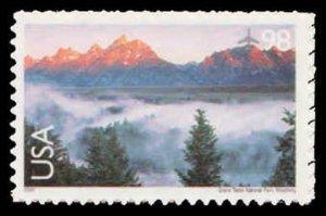US C147 98c Grand Teton (Wyoming), MNH, (PCB-6)