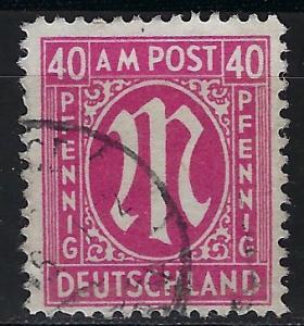 Germany AM Post Scott # 3N15, used