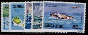 SAMOA QEII SG444-448, 1975 Intepex set, NH MINT.