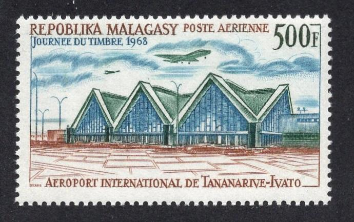 Malagasy Republic   #C89  MNH  1968  Tananarive-Ivato international airport