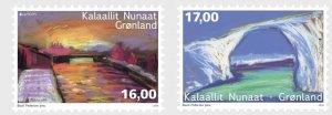 Greenland 2018 MNH Stamps Europa CEPT Bridges