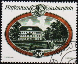Liechtenstein. 1977 20r S.G.677 Fine Used