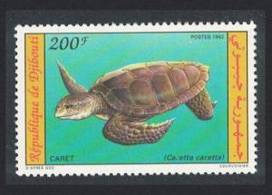 Djibouti Loggerhead Turtle 1992 MNH SG#1087