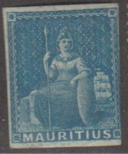 Mauritius Scott #8 Stamps - Mint Single