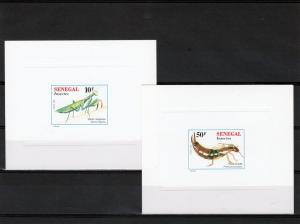 Senegal 1997 INSECTS 5 Deluxe SS MNH VF Sc.# 1241-1246