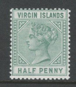 Virgin Islands 1883 Queen Victoria 1/2 p Scott # 13 MNH
