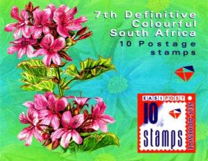 South Africa - 2000 7th Def Flowers Booklet SG SB60