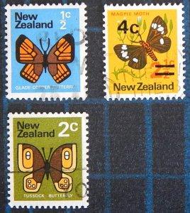 Butterflies, New Zealand, (2487-T)