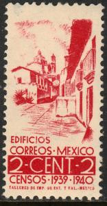 MEXICO 751, 2c Census, 1940. MINT, NH. F-VF..
