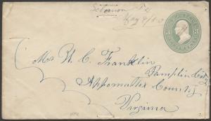 TEXAS COLLIN CTY (1880 LeBanon) DPO 1871-1905 (Manuscript)