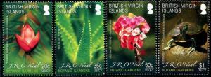 HERRICKSTAMP VIRGIN ISLANDS Sc.# 1101-04 Botanic Gardens