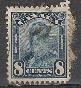 #154 Canada Usedd George V
