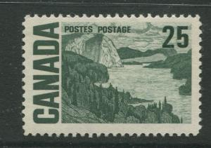 Canada  #465  MNH  1967 Single 25c Stamp