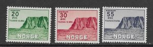 Norway B54-6 MNH complete set, vf. 2022 CV $ 39.00