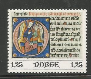 NORWAY, 708, MNH, DAVID WITH BELLS