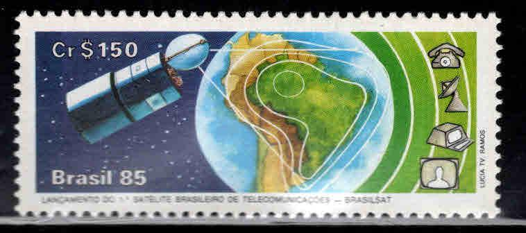 Brazil Scott  1971 MNH** 1985 space stamp