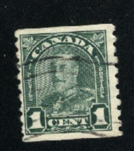 Canada #179   used   VF  PD