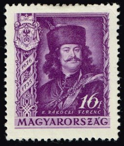 HUNGARY STAMP 1935 The 200th Anniversary of the Death of Prince MH/OG 16F