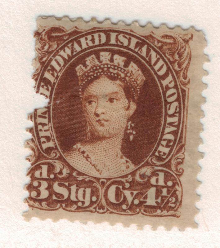 Prince Edward Island (Canadian Province) Stamp Scott #10, Mint With Faults - ...