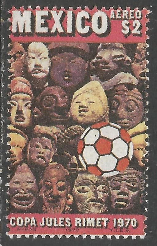 MEXICO C373 MNH WORLD CUP 986B-1
