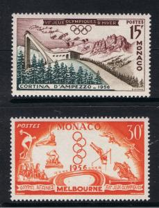 Monaco - Melbourne Olympic Games MNH 1956