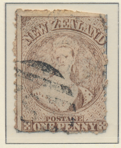 New Zealand Stamp Scott #42, Used - Free U.S. Shipping, Free Worldwide Shippi...