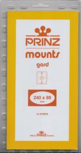PRINZ CLEAR MOUNTS 240X89 (10) RETAIL PRICE $9.50