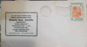 O) 1951, 1ST JUMP IN PARACHUTES ROBERTO SOSA CASTILLA, JOSE RAUL CAPABLANCA, WOR